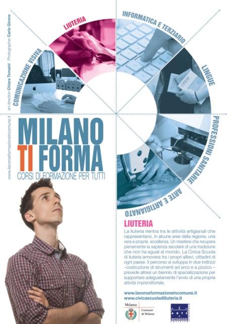 Milano Ti Forma - corsi di formazione professionale per italiani e stranieri, offerti dal Comune di Milano