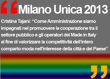 Milano Unica 2013 Salone del tessile