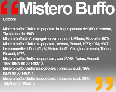 MISTERO BUFFO  Dario Fo - Franca Rame