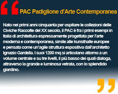 PAC Padiglione d'Arte Contemporanea di Milano