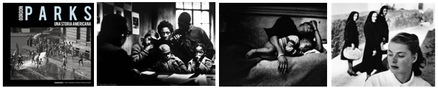 Rencontres d'Arles 2013 © Gordon Parks Magnum Contrasto - famiglie povere negli stati del sud e ritratto di Ingrid Bergman a Stromboli