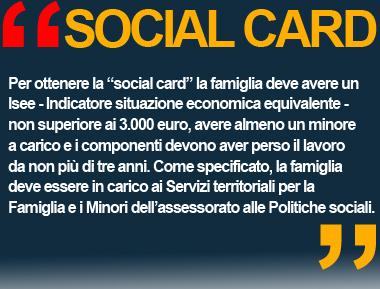 SOCIAL CARD 2013 MILANO