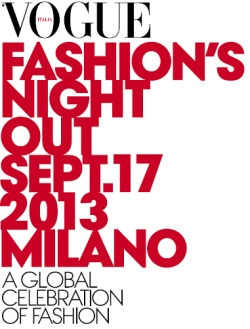 Vogue Fashion's Night Out 2013 - MODA MILANO