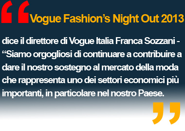 Vogue Fashion's Night Out - MODA MILANO