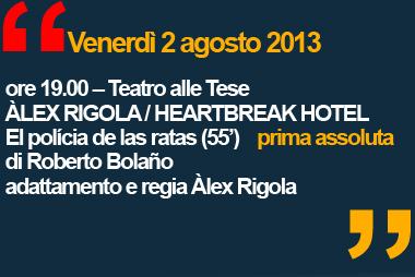 Biennale Teatro 2013 - Àlex Rigola