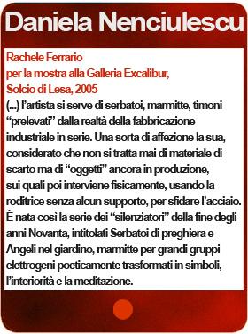 Daniela Nenciulescu Così puri, così corrotti