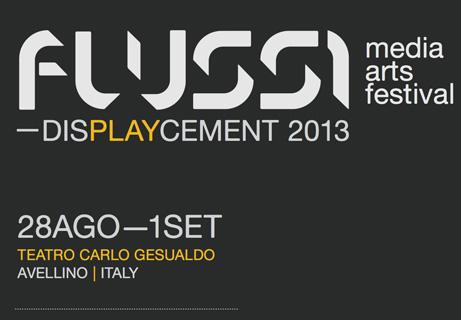 FLUSSI 2013 Festival di musica elettronica e arti digitali