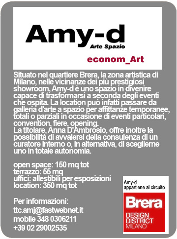 Galleria d'Arte Amy-d Arte Spazio Brera District Milano