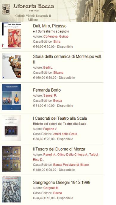 Libreria Bocca Milano