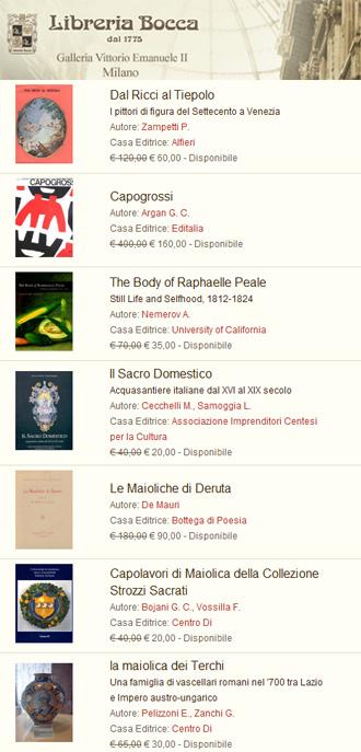 Libreria Bocca, Milano