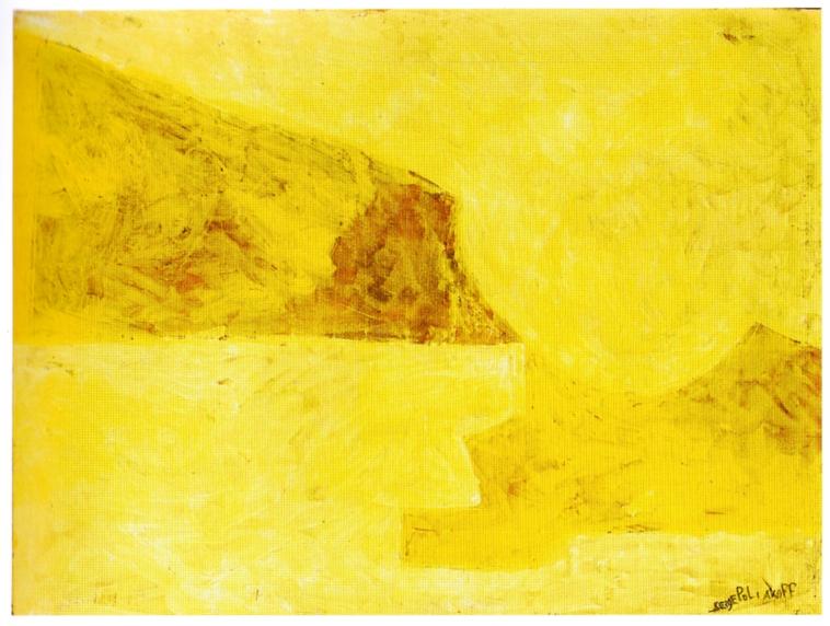Lorenzelli Arte, Serge Poliakoff - 6. Composition abstraite, 1960, gouache sur papier, cm 47x63