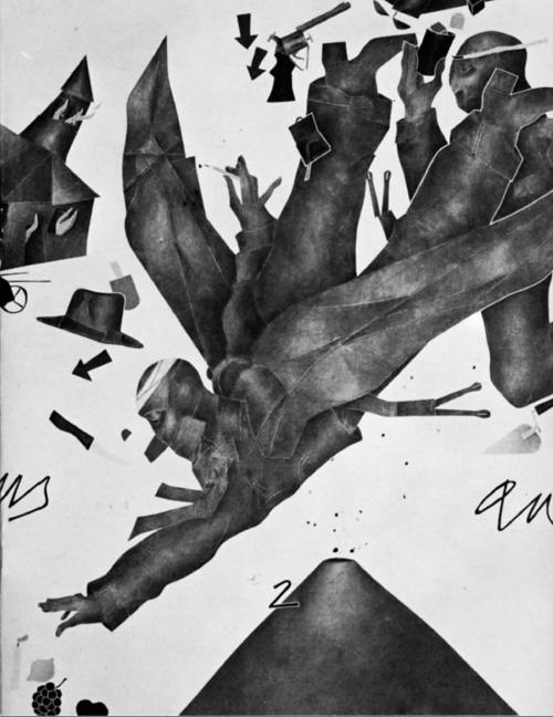 Milano Expo - Emilio Tadini, Angelus novus, 1979, cm 180 x 150