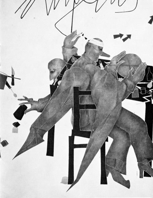 quotazioni arte contemporanea e documenti - Emilio Tadini , Angelus novus, 1979, cm 180x 150