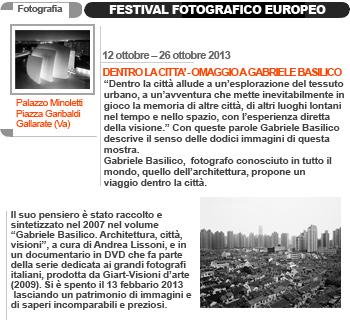 Festival Fotografico Europeo - Gabriele Basilico