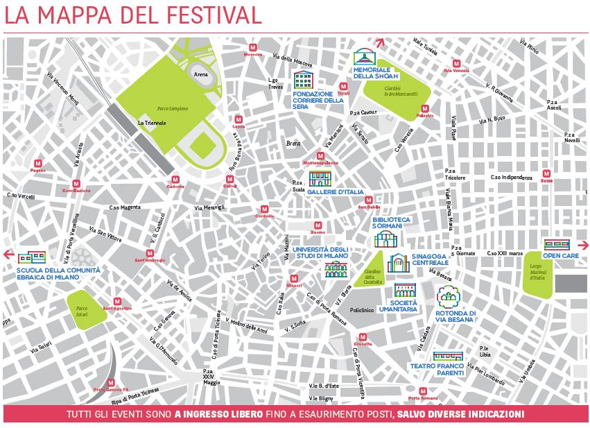 JEWISH AND THE CITY Festival Internazionale di Cultura Ebraica Milano 2013