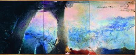 Zao Wou-Ki Retrospettiva 1920-2013, Pinacoteca comunale Casa Rusca Locarno