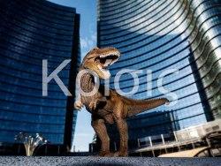 Macao Milano mostra del collettivo Krìsis - Brando Cimarosti - Sulle tracce del T-Rex