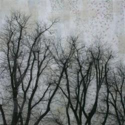 Manuel Felisi, mostra Milano a Spazio Tadini -  ALBERI 1 cm. 200x200