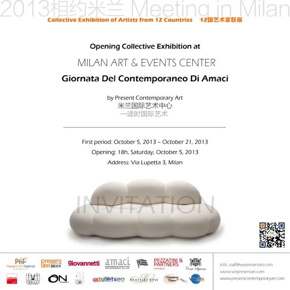 Milan Art Events Center arte contemporanea