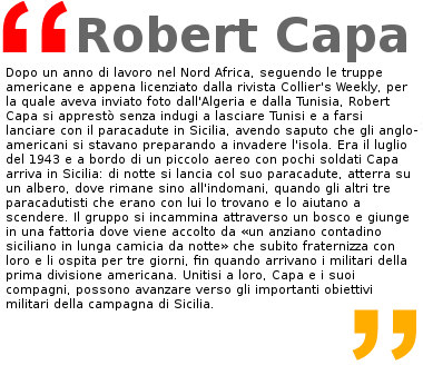 Robert Capa, mostra Palazzo Braschi Roma
