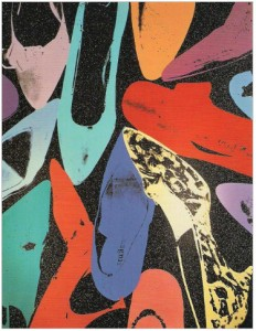 "Andy Warhol, ""Diamond Dust Shoes"""