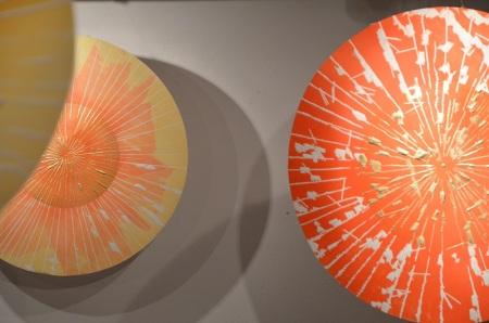 Coreografia d'Arte 2013 - Alessandra Angelini, dettaglio installazione a Spazio Tadini