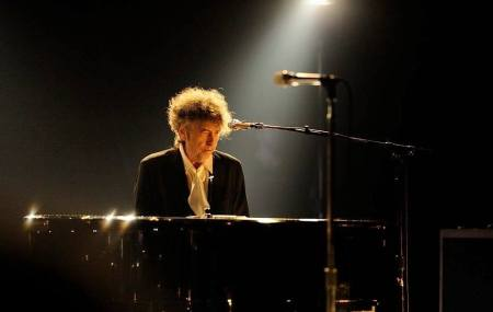 Bob Dylan al pianoforte @ Royal Albert Hall 2013 © Paolo Brillo
