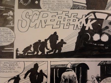 Spazio Tadini mostra Sergio Toppi - dettaglio