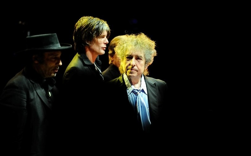 Tony Garnier, Charlie Sexton, Bob Dylan @ Royal Albert Hall © Paolo Brillo