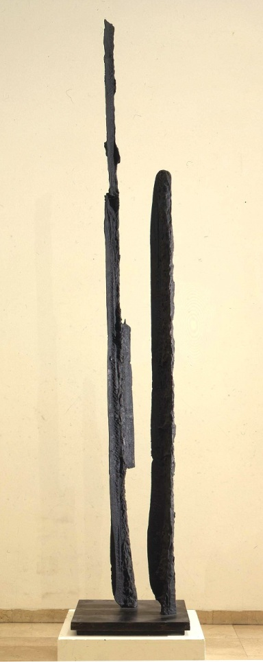 Umberto Milani,Presenze, 1960, bronzo
