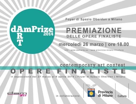 DAMprize 2014 a Spazio Oberdan Milano