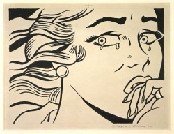 GAM Galleria d'Arte moderna di Milano - Roy Lichtenstein -Crying Girl