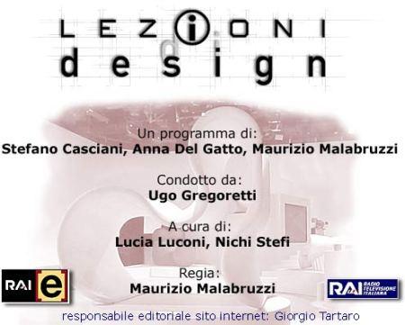 lezioni di design