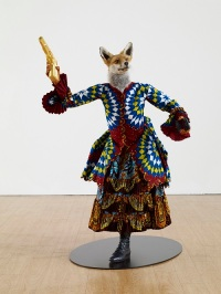 Milano Arte - Brand New Gallery - YINKA SHONIBARE MBE_Revolution Kid (fox girl), 2012
