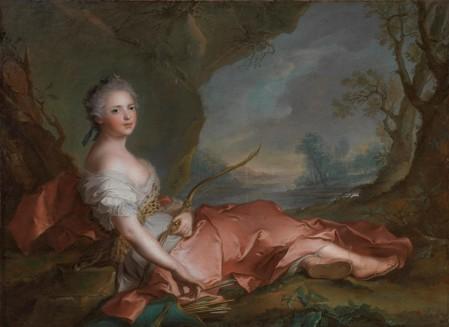Palazzo Pitti mostra - J-M. Nattier, Adelaide di Francia come Diana