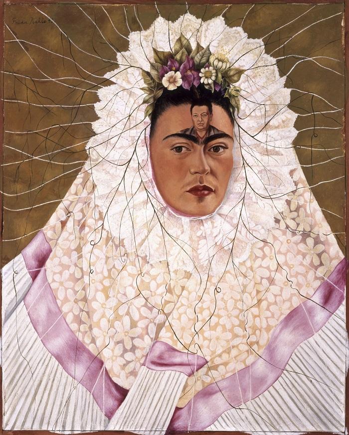 Frida Kahlo mostra ROMA Scuderie del Quirinale - Autoritratto come Tehuana (o Diego nei miei pensieri)
