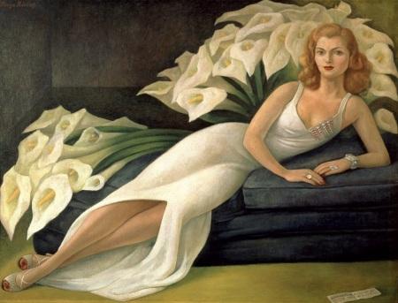 Frida Kahlo ROMA Scuderie del Quirinale - Diego Rivera - Ritratto di Natasha Gelman