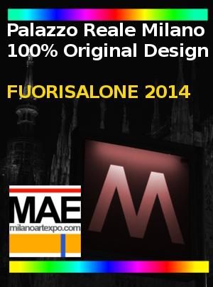 Fuorisalone 2014 a palazzo reale mostra 100 original for Orari fuorisalone milano