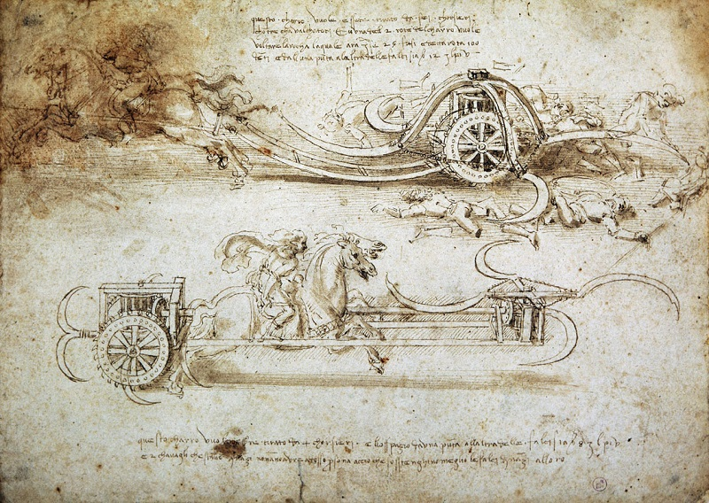 LEONARDO 1542-1519 Milano Palazzo Reale