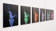 Sotheby's New York - Warhol Six Self Portraits