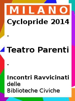 Cyclopride Milano 2014