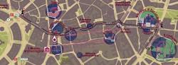 Mappa Milano a piedi