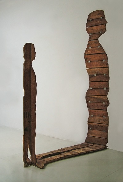 Sotheby's Milano asta - Mario Ceroli L'Uomo e la Sua Ombra, 1967