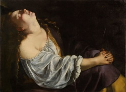 Artemisia Gentileschi  Maddalena in Estasi