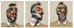 Francis Bacon, Three Studies for Portrait of George Dyer