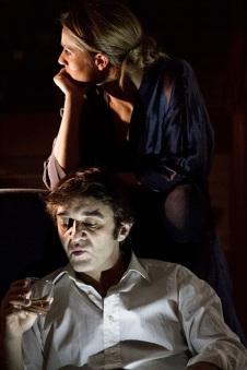 L'amante di Harold Pinter regia Sara Drago e Alessandro Conte - anche interopreti - FOTO Alicia Mañas.