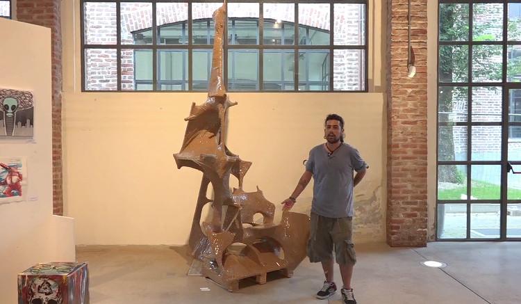 Expo Milano - Wonderwalls - opera di Aldo Lurgo e Luciano Pastori