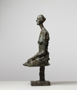 Giacometti, Annette assis