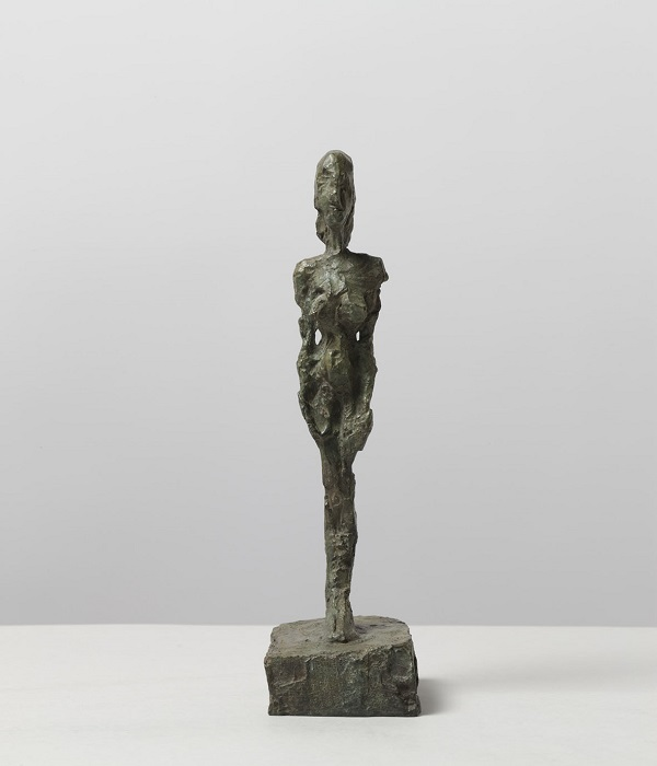 Giacometti, Femme debout au chignon