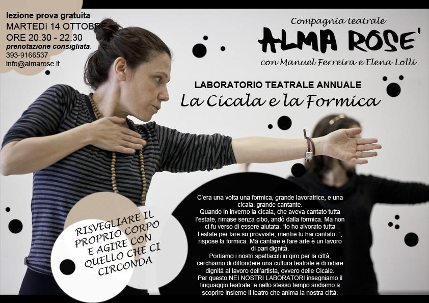 corsi di teatro Milano